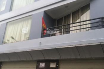 Cho thuê nhà căn góc mặt phố Trần Nhân Tông, DT 60m2 x 4T, MT 12m, giá 100tr/th, Hiếu 0974739378