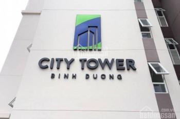 BÁN CĂN HỘ CITY TOWER 2PN DT 60M2 NỘI THẤT CƠ BẢN HOÀN THIỆN NHẬN NHÀ Ở NGAY,GẦN AEON MALL
