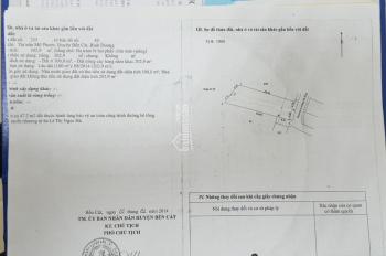 Bán đất chính chủ trung tâm thị xã Bến Cát