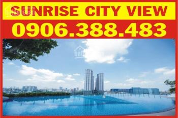 Cho thuê căn hộ Sunrise City View, mới 100%, DT 41m2, giá 8 triệu/tháng. LH: 0906.388.483 - Ms.Trúc