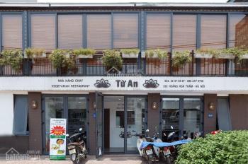 Cực phẩm nhà mặt phố Hoàng Hoa Thám, mặt tiền 15m, đang cho thuê kinh doanh nhà hàng cực tốt