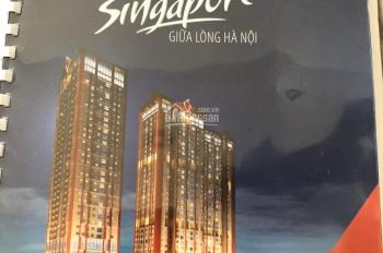 Bán căn hộ 3 phòng ngủ tòa B chung cư Hà Nội Paragon. Giá bán: 34tr/m2