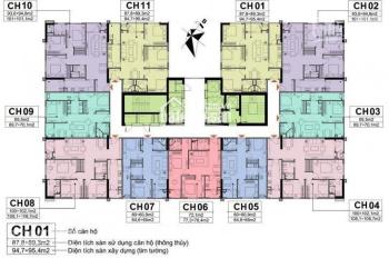 Bán chung cư A10 Nam Trung Yên: 1903 tòa CT1. DT 65.5m2, giá 1.950 tỷ (bao phí), 0978027988