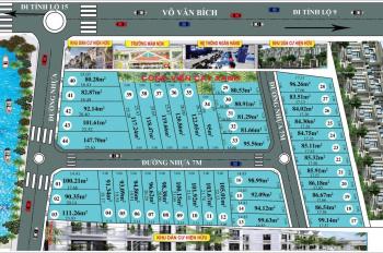 Cơ hội sở hữu đất nền giá rẻ chỉ 14,5tr/m2 - Hoàng Yến Riverside ngay Cầu Xáng, tel: 090.6869.134