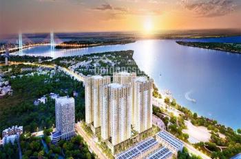 Bán gấp Q7 Saigon Riverside, 2PN 2WC, giá HĐ CL 30 triệu, NH hỗ trợ vay, LH 0973507694