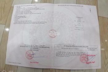 Bán đất sổ đỏ 75m2, giá 690tr hỗ trợ vay ngân hàng - gần chợ Phú Chánh xây dựng tự do, 0901737686