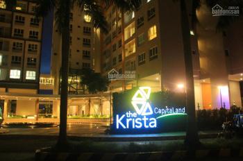 Cho thuê căn hộ Krista giá rẻ (3PN, 2WC, 103m2). Giá thuê 10 triệu/tháng (nhà trống)