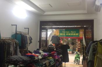 Cho thuê cửa hàng mặt phố Nguyễn Công Hoan, DT 40m2, MT 4m, giá 13tr/th. LH Hiếu 0974739378