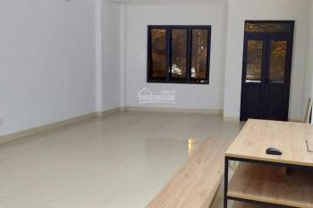 Cho thuê sàn văn phòng DT 60m2, nhà mới đẹp ngõ 460 Khương Đình, vỉa hè rộng, ô tô đỗ cửa, 7 tr/th