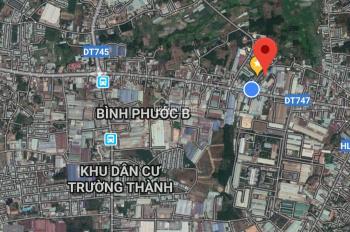 Gia đình bán 130m2 có 55m2 thổ cư ở phường Thái Hòa, TX Tân Uyên, Bình Dương