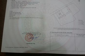 Bán lô đất rẻ nhất thị trường thôn Sen Hồ, xã Lệ Chi, huyện Gia Lâm, thành phố Hà Nội