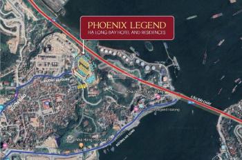 Phoenix Legend Hạ Long Bay đầu tư 850tr cam kết cho thuê 30tr/tháng, sở hữu lâu dài, LH: 0912687997