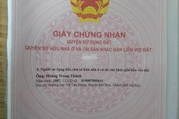 Đất thổ cư cạnh KCN Sam Sung, thị xã Phổ Yên, liên hệ số điện thoại 0378 443 331 Hoàng