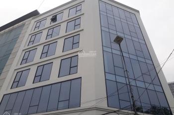 Cần cho thuê nhà MP Phạm Tuấn Tài, Cầu Giấy, làm trụ sở công ty, 160m2 * 8T, 1 hầm. LH 0968120493