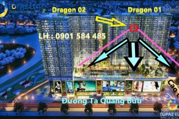 Dự án căn hộ quận 8 Topaz Elite Dragon 01, DT 78m2 chênh HĐMB chỉ 330tr view hồ bơi. LH 0901584485