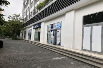 Gấp gấp cho thuê căn Shop Times City 340m2 đã thiết kế, điều hòa, cực vuông,25usd/m/th