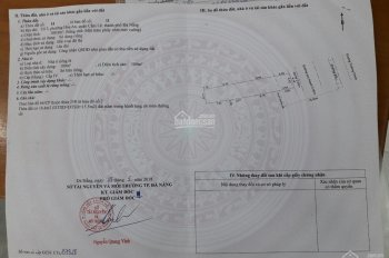 Bán đất mặt tiền đường Trường Chinh, Quận Cẩm Lệ, thành phố Đà Nẵng, 100m2, hạ giá 2,95 tỷ
