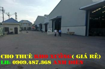 Hương Lộ 2 cho thuê: 3 nhà xưởng (160m2 - 200m2 - 300m2) giá siêu rẻ, LH: 0938.807.368