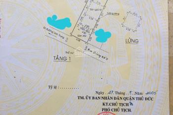 Bán nhà đường số 5, KP2, Phường Linh Trung nhà cấp 4 có gác và 4 trọ hẻm xe hơi quay đầu