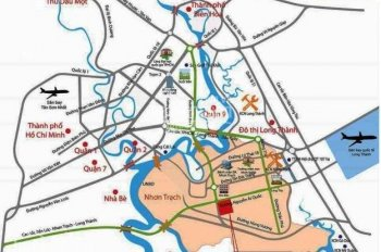 Bán đất đồng nai KDC Long Tân City, mặt tiền 25C, 8 triệu/m2, SHR, 0938903118