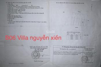 Bán gấp lô trục chính Villa Nguyễn Xiển gần Vinhome 57m2, giá 2,7 tỷ, LH: 0986163252