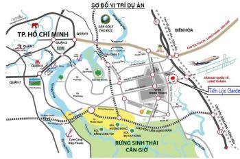 14tr/m2 sở hữu ngay đất nền KDC Tiến Lộc Garden, Đồng Nai, đón cầu Cát Lái và sân bay Long Thành