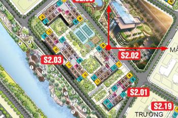 Vin Ocean Park Gia Lâm: Căn 55m2, giá 1,5xx tỷ, tầng trung, cam kết rẻ nhất toàn dự án