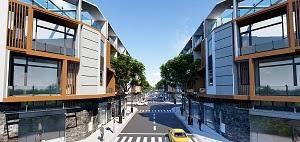 Bán nhà phố LK Tân Phước Khánh 1 trệt 1 lầu, SHR, có đất xây nhà, giá chỉ từ 1,2 tỷ
