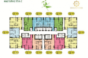Anh Trung bán gấp chung cư Intracom Riverside căn 1602 tòa C dt 60m2 giá 22tr/m2 LH 0971285068