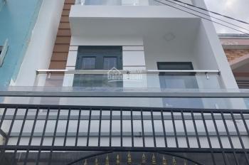 Cho thuê nhà 3 tấm mặt tiền đường Nguyễn Thái Bình, Phường 4, Quận Tân Bình.