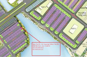 Bán biệt thự song lập Vinhomes Ocean Park ba mặt hồ, giá chỉ 100tr/1m2
