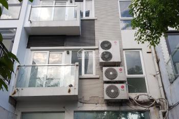 Cho thuê nhà Trần Kim Xuyến, 85m2 x 5T, có thang máy, điều hòa làm VP, công ty dược