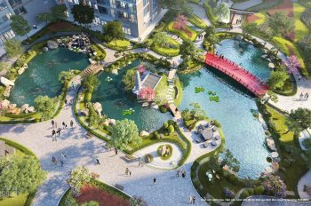 Sở hữu ngay căn Studio tại phân khu Ruby dự án Vinhomes Ocean Park, View vườn nhật, Giá 1,25 tỷ BP
