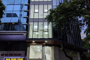 Cho thuê nhà mặt phố Nguyễn Khuyến: 110m2 x 6 tầng, MT 4m, nhà mới, thang máy: LH: 0974557067