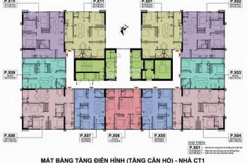 Cần tiền bán gấp CC A10 Nam Trung Yên, 60.6m2, căn 12-05 CT1, giá 29tr/m2. LH chị Hà 0987232654.