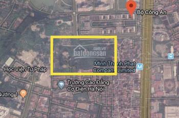 Bán 1 hecta đất sau Bộ Công An  Phạm Văn Đồng- Hà Nội.LH 0962825595