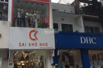 Cho thuê MT siêu vị trí  Nguyễn Thái Bình P.12 DT: 4x15m T2L giá 20 triệu /tháng ,vị trí KD sầm uất