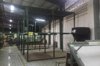 Cho thuê kho xưởng siêu đẹp 1100m2 đường lớn Kinh Dương Vương, Quận Bình Tân