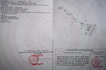 Chính chủ bán 2 lô đất ở khóm 1, phường 2, Thị xã Ngã Năm, tỉnh Sóc Trăng