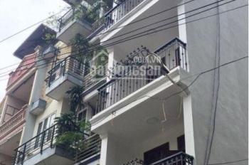 Cho thuê nhà 55m2 x 6T thang máy Thịnh Quang, giá: 21 tr/th