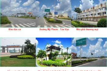 Ngân hàng Vietcombank phát mãi đất nền tại KĐT Bình Dương, sổ riêng, giá 450 triệu TC, MT 8m