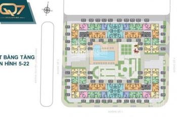 Tặng cặp vé du lịch Singapore khi mua Q7 Boulevard mặt tiền Nguyễn Lương Bằng, LH 0902537816