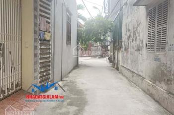 Bán đất thôn Cam, Cổ Bi, Gia Lâm, DT 95m2, mặt tiền 5m, đất vuông, hướng Tây Bắc