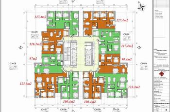 A Vinh 0936104216. Bán gấp căn 2007 chung cư FLC 265 Cầu Giấy, DT 123m2, giá bán 33,5tr/m2