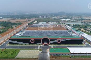 Mua bán đất nền ngay Hoà Lạc, đất gần nhà máy Vinsmart Phú Cát Quốc Oai 100m chỉ 950tr thổ cư 100%