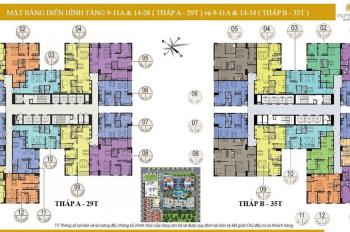 Chính chủ cần bán lại căn 2 PN ban công Đông Nam chung cư Imperia Garden, Thanh Xuân, tầng trung