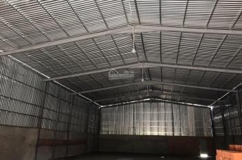Cho thuê nhà xưởng 17x69=1000m2, diện tích XD 600m2 mặt tiền Kinh Tham Lương