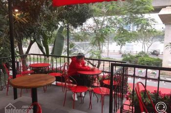 Cho thuê nhà mặt phố Thái Hà, Đống Đa làm nhà hàng, cafe, ngân hàng 140m2 x 2T MT 6m, 60tr/th