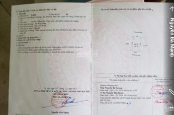 Cần bán lô đất dịch vụ Quang Lãm, Phú Lãm, Hà Đông, Hà Nội