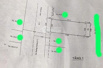 Nhà hẻm 8m nhựa 822/ Hương Lộ 2, 5x16m, trệt lửng, 4,5tỷ thương lượng